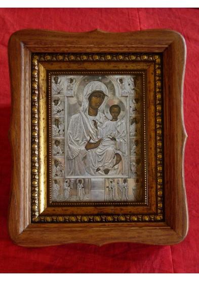 ikona Bogurodzicy, drewno